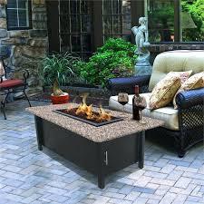 gas fire pit coffee table coffee table coffee table height with reflection fire pit coffee