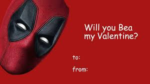 valentines day photo cards. Plain Valentines Herearesomecheesydeadpool2valentinesday To Valentines Day Photo Cards