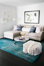 teal living room rug awesome rugs combined a white modern sofa also armless pertaining to 17