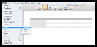 Make A Gantt Chart In Pages For Mac Tutorial Free Template