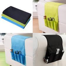 hanging bag sofa arm hanging bag for tv remote control holder organizer 4 pockets for cell
