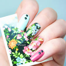 $0.99 Chic Flower Nail Art Water Decals Transfer Stickers Splendid ...