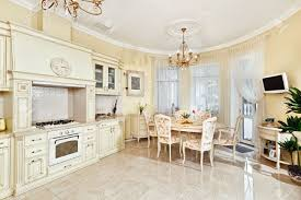 Beige Kitchen classic style kitchen and dining room interior in beige pastoral 7194 by guidejewelry.us