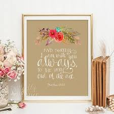 wall art scripture print nursery by erflywhisper