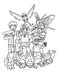 Pokemon Coloring Pages Pdf Pokemon Coloring Book Pdf Coloring Pages For Kids Christmas Coloring
