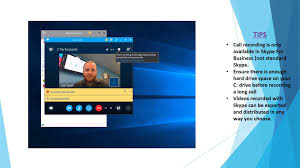 recording a skype call how to record a skype for business call youtube