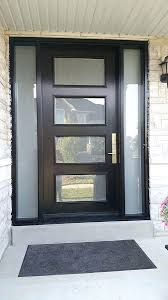 black glass front door. Black Front Doors With Glass Modern Exterior Door Multi Point E