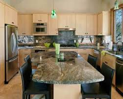green granite countertop island ideal paint colors for kitchen with countertops