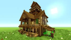 Big Minecraft House Designs Minecraft Tutorial Epic Survival House Tutorial How To