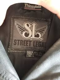 street legal women s leather jacket size 14 for in brunswick oh offerup