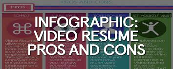 video production resume infographic video resume pros and cons free samples examples video resume sample