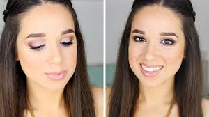 natural everyday makeup one brand tutorial essence you