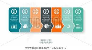 Infographic Timeline Vector & Photo (Free Trial) | Bigstock
