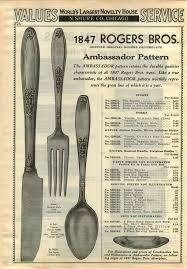 1847 Rogers Bros Silverware Patterns