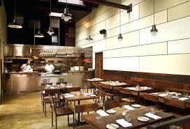 Design Of Open Kitchen Restaurant Open Kitchen Cool Restaurant Open