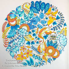 video pencil colouring tutorial colouring leaves in enchanted forest