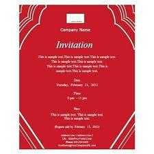 corporate event invitation template event invitation card template