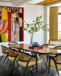 house tour inside a pacific palisades home that is an art collector s dream dining tabledining rooms