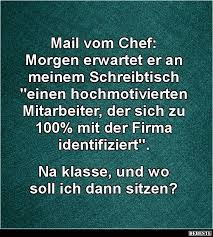 Mail Vom Chef Lustige Bilder Sprüche Witze Echt Lustig