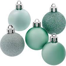 Weihnachtskugel Set 30 Teilig Mint