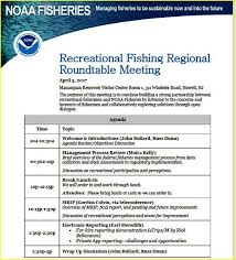 april 3 2017 recreational fishing regional roundtable meeting in new jersey today