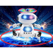 ROBOT ĐỒ CHƠI THÔNG MINH XOAY 360 ĐỘ