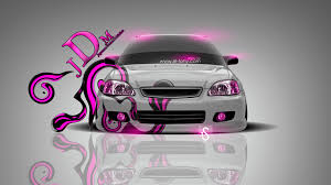 honda civic jdm effects car