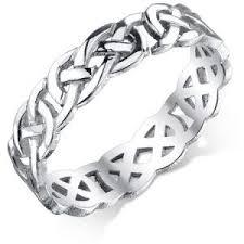 mens celtic knot wedding bands. celtic knot wedding band in 14k white gold mens bands