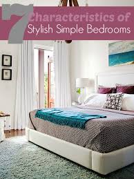 Remodelaholic 40 Characteristics Of Stylish Simple Bedrooms Adorable Simple Bedrooms