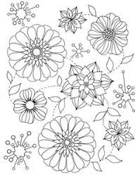 8 Best Easy Flowers By Stefania Miro Images Coloring Books