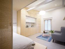 Compact apartment furniture Small Space Design Urban Cocoon Is Compact Apartment In Paris That Gets Modern Renovation Urban Cocoon Is Compact Apartment In Paris That Gets Modern