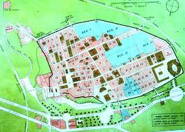 the map of pompeii ruins pompeii pinterest pompeii, pompeii Map Of Italy Naples And Pompeii the map of pompeii ruins naples pompei map