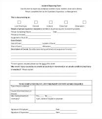 Incident Investigation Report Template Whs Accident Incident
