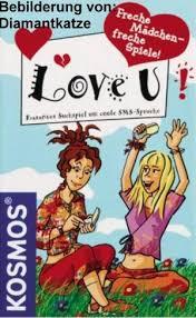 Freche Mädchen Freche Bücher Freche Spiele Love U Kartenspiel