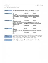 Resume Templates For Mac Word Lovely Idea Word Resume Template