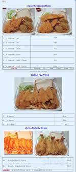 Seafood Deli menu in Port Arthur, Texas ...
