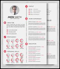 Impressive Portfolio Resume Marvelous 10 Templates Free Download