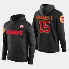 Patrick Pullover Black Chiefs Mahomes - Hoodie Player Ii