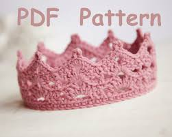 Crochet Crown Pattern Simple Free Crochet Patterns For Baby Crowns Hľadať Googlom Háčkovnie