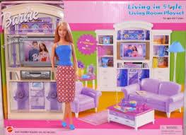 barbie doll house furniture. LIVING ROOM Barbie Furniture Living In Style NEW Mattel Doll Inside Room Set Prepare 5 House