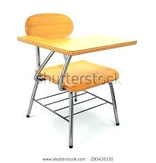 school desk and chair combo. student chair desk combo school pocket backpack used and