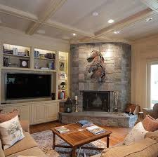 corner fireplace with built ins design ideas pictures remodel and decor