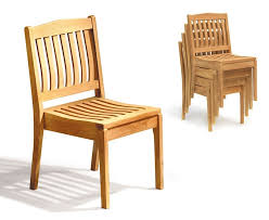 hilgrove outdoor stackable garden chair
