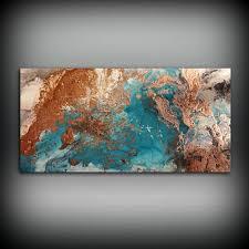 Copper Coastal Painting 24