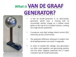 van der graaf generator how it works design principle operation of van der graaf