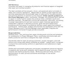 Senior Project Manager Resume Sample Project Manager Resume Click