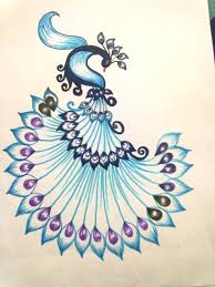 Alfa img - Showing > Peacock Designs For Fabric Painting on Cloth