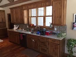 rustic knotty alder kitchen cabinets new home stillwater mn