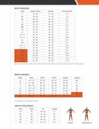 Simms Waders Size Chart Simms Mens Waders Apparel Fixed Waist Size Charts