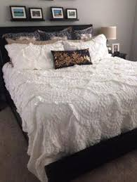 Anthropologie Rivulets Quilt & Shams in Ivory | Bedroom ... & Rivulets Quilt Adamdwight.com